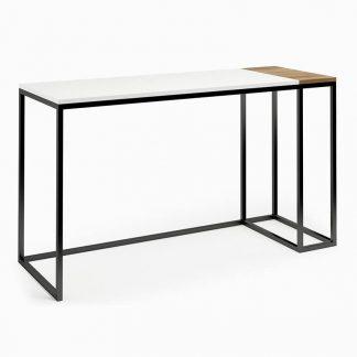Nowoczesne biurko connect steel sixie (130 cm)