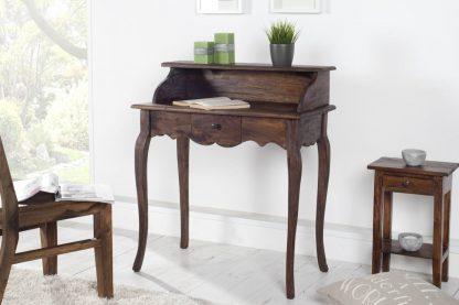 Stylowe biurko/sekretarzyk hemingway (80 cm)