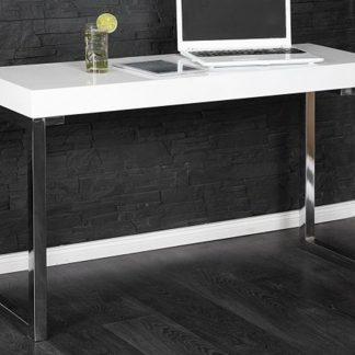 Nowoczesne białe biurko white desk (120 cm)
