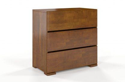 Komoda drewniana bukowa visby sandemo 3s80 / szer. 80 cm