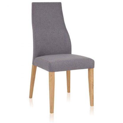 Kobe krzesło bukowe tapicerowane w nowoczesnym stylu