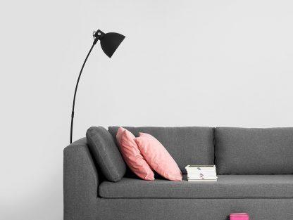 Nowoczesna rozkładana sofa ambient 3-osobowa