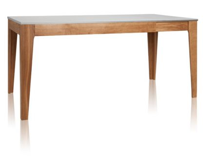 Kuba stół nowoczesny rozkładany z akrylowym blatem 140-200 cm