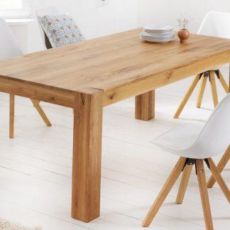 Drewniany dębowy stół pure / 200x100 cm