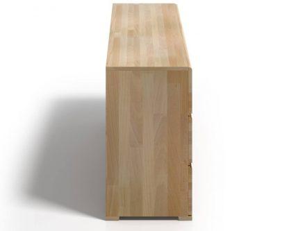 Komoda bukowa skandica vestre 3 szuflady