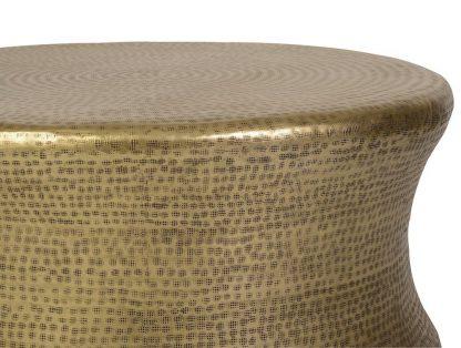 Okrągły stolik kawowy bongo w kolorze dąb antyczny