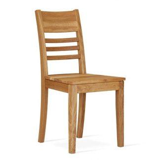 Nowoczesne dębowe krzesło greta