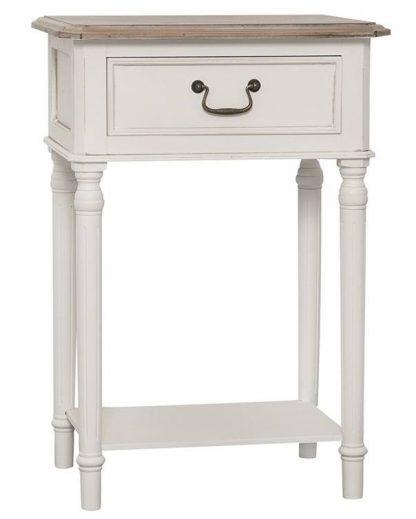 Biały stolik ravenna w prowansalskim stylu