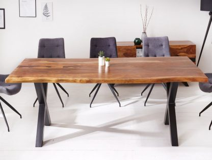 Nowoczesny duży stół amazonas z drewna palisandru / 220 x 100 cm
