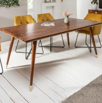 Drewniany stół mystic living / 160x90 cm