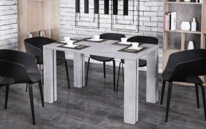 Nowoczesny rozkładany stół nisa / 130-265 cm