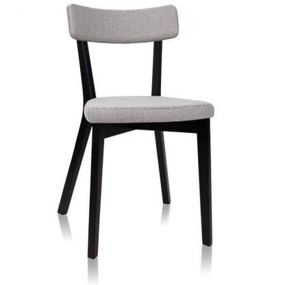 Spark krzesło bukowe tapicerowane