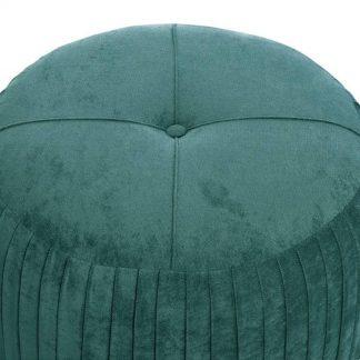 Elegancki puf pierre i w stylu glamour
