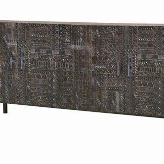 Drewniana komoda chichita w orientalnym stylu / szer. 180 cm