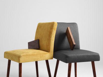 Eleganckie krzesło tapicerowane mylo