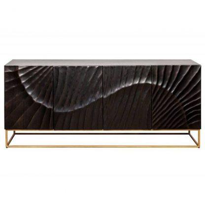 Elegancka drewniana komoda scorpion / szer. 177 cm