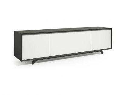 Nowoczesna komoda krood steel white / szer. 220 cm