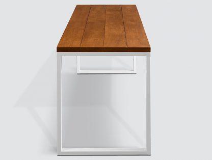 Stół shindo na metalowej ramie z drewnianym blatem