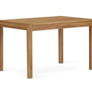 Nowoczesny rozkładany stół dębowy agata / 120x80 cm + 50 cm