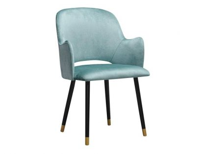 Nowoczesne krzesło tapicerowane z podłokietnikami conrad