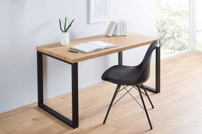 Nowoczesne biurko black desk (120 cm)