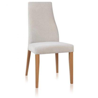 Kobe krzesło dębowe tapicerowane w nowoczesnym stylu