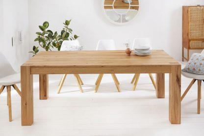 Drewniany dębowy stół pure / 160x90 cm