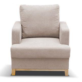 Boden fotel w stylu skandynawskim