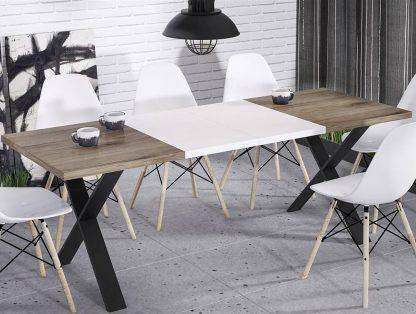 Nowoczesny rozkładany stół x 130-210 cm