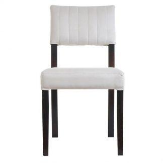 Nowoczesne krzesło tapicerowane walter