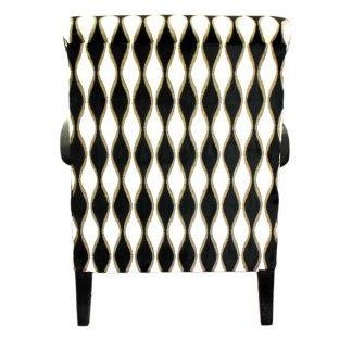 Fotel corleone z poręczą