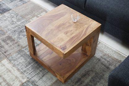 Drewniany stolik kawowy giant 45cm