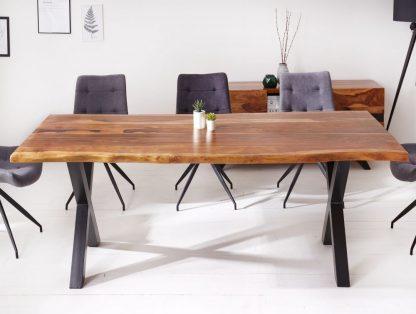 Nowoczesny duży stół amazonas z drewna palisandru / 180 x 90 cm