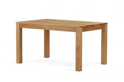 Nowoczesny rozkładany stół dębowy anders / 160x90 cm + 50 cm