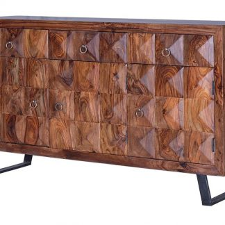 Komoda manada z drewna palisandrowego  / szer. 150 cm