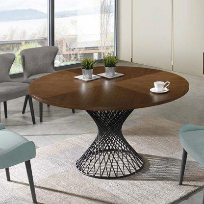 Okrągły stół do jadalni orlando / śr. 137 cm