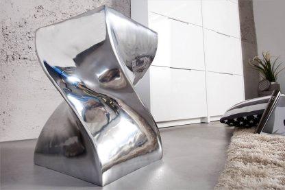 Aluminiowy taboret twist