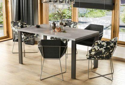 Nowoczesny rozkładany stół garant / 80-215 cm