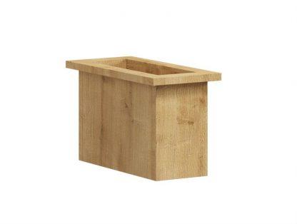 Nowoczesna komoda box z szafką box steel / szer. 100 cm