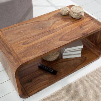 Elegancka ława cube z drewna palisandrowego