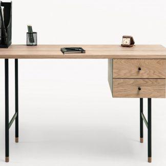 Nowoczesne biurko jugend w industrialnym stylu (130 cm)