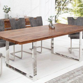Drewniany stół fire&earth 160x90 cm