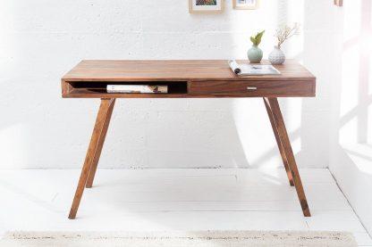 Drewniane biurko retro (120 cm)