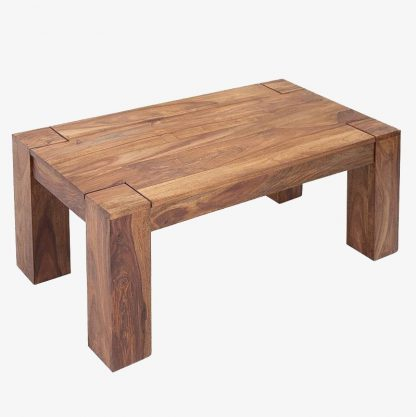 Drewniana ława makassar (100 cm)