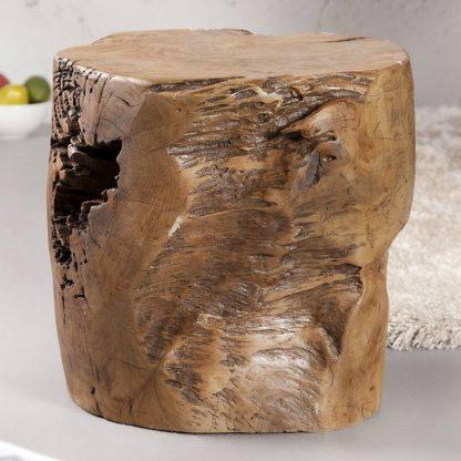 Stolik kawowy voodoo z drewna tekowego