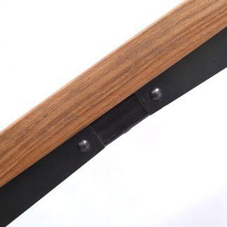 Industrialny stół wendy na metalowych nogach