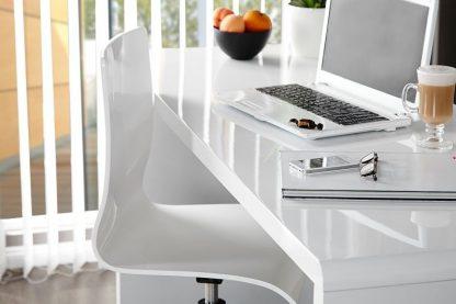 Białe biurko fast trade (120 cm)
