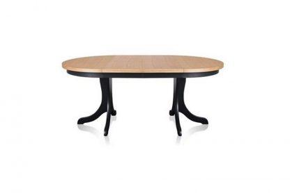 Okrągły rozkładany stół zorian / 110-310 cm