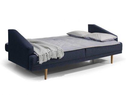 Nowoczesna sofa lobos z funkcją spania i pojemnikiem na pościel