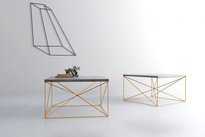 Stolik kawowy geometry color